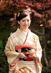 This year's Saio-dai, Maiko Nagase, smiles after being selected (April 15, Kyoto Heian Hotel, Kamigyo Ward, Kyoto)