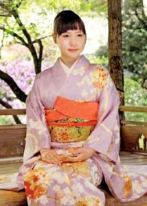 Photo= Risako Ota, who has been chosen as the 59th Saio-dai (April 14th, Kyoto Heian Hotel, Kamigyo Ward, Kyoto City)