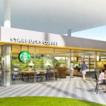 "Photo= A conceptual drawing of the ""Starbucks"" opening on the Fukakusa Campus of Ryukoku University (provided by Ryukoku University)"