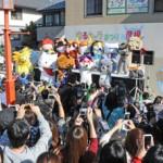 "Photo= Opening ceremony of ""Yuru Kyara Matsuri"" last year (October 2012, 1 Honmachi, Hikone City, Shiga Prefecture)"