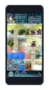 "A ""Fire Emblem Heroes'"" game scene (provided by Nintendo)"