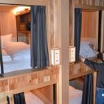 "Photo= Guest rooms in ""THE PRIME POD KYOTO,"" which adheres to Japanese-style interiors (Sanjo-dori Kawaramachi Higashi-iru, Nakagyo Ward, Kyoto)"