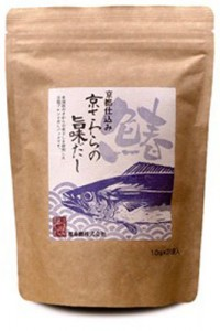 "Photo= ""Kyo Sawara no Umami Dashi,"" or soup stock flavor with Kyoto-produced Japanese Spanish mackerel"