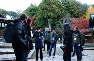 Kyoto organizes new English-language tour