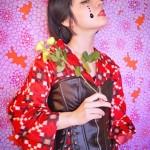 Kyoto kimono designer shines on Instagram