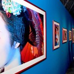 Ninagawa exhibition expresses aura of Kyoto's geiko glamor
