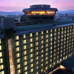 Photo= A revolving restaurant is located on the top floor of Rihga Royal Hotel Kyoto (Shimogyo Ward, Kyoto)
