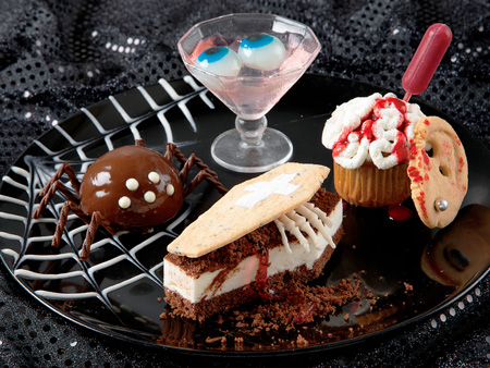 """Photo= The """"Horror Plate"""" at """"Royal Oak Hotel Spa & Gardens"""""""