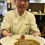 Haruhiko Akada, president of Akadaya, has developed Japanese style halal-compliant curry and rice (Nakagyo Ward, Kyoto)